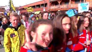 Alpe d'Huez - SKIOPEN COQ D'OR 2016- Le Défilé