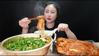 도전먹방:) 🔥요청 폭주🔥 청양고추 20개 넣은 오징어 짬뽕 순두부 라면 금치 배추불김치 4단계 독하게 매운맛 먹방 spicy ramen spicy kimchi mukbang