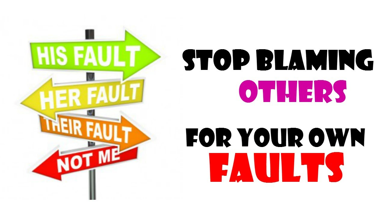 blaming yourself for relationship failure signs