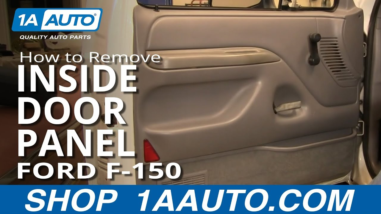 Superior How To Install Replace Remove Inside Door Panel Manual Windows Ford F 150  92 96 1AAuto.com