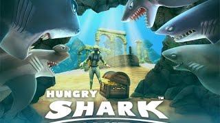 Como desbloquear os tubarões especiais em Hungry Shark Evolution