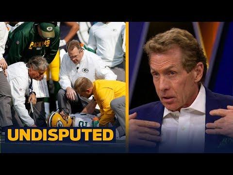 Packers QB Aaron Rodgers breaks collarbone in Week 6 - Skip and Shannon react | UNDISPUTED