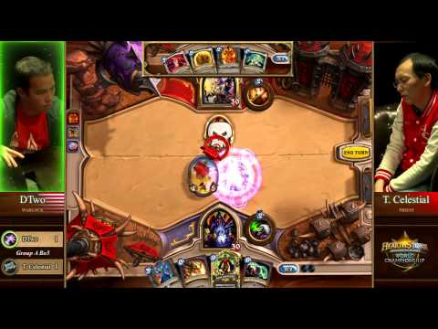 DTwo vs. Tiddler Celestial - Group A - Match 3 - Hearthstone World Championship 2014