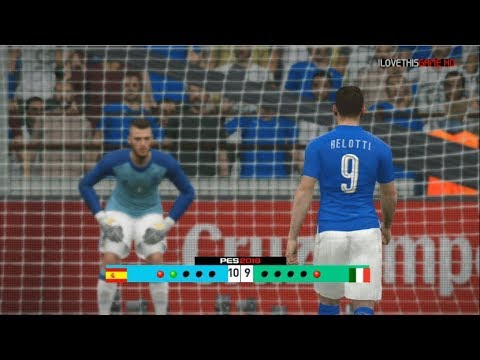 Spain vs Italy I World Cup Qualifiers I Penalty Shootout