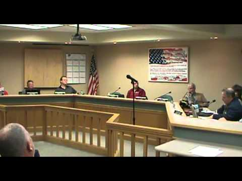 Centralia MO Public Safety and General Government Committee Meeting 12/10/2012