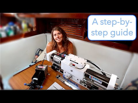 63] Installing A 12V WATERMAKER On A Sailboat   It Runs Off SOLAR ONLY!
