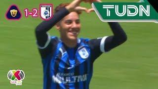 Querétaro saca resultado ante las Pumas | Pumas 1 - 2 Querétaro | Liga MX Femenil - Ap 19 J3 | TUDN