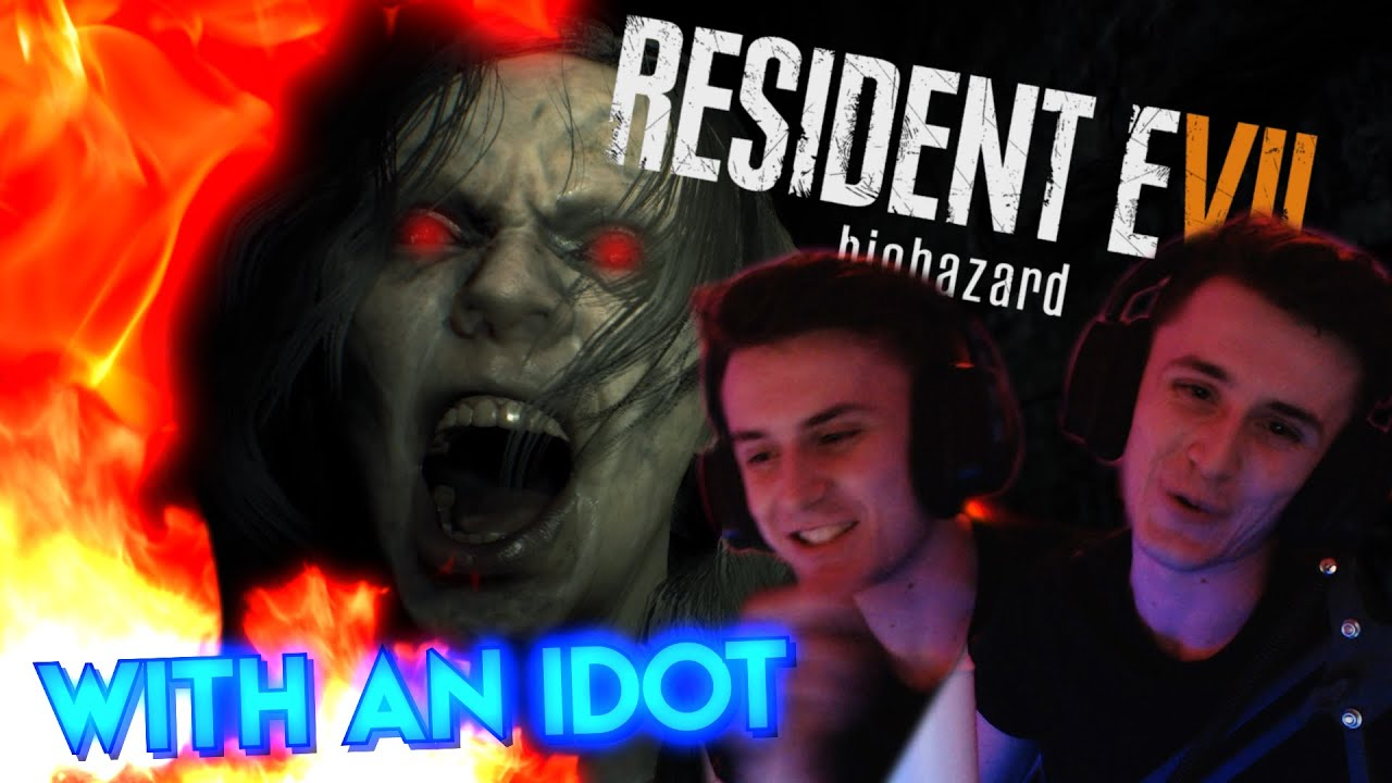 Resident Evil 7 With An Idot!