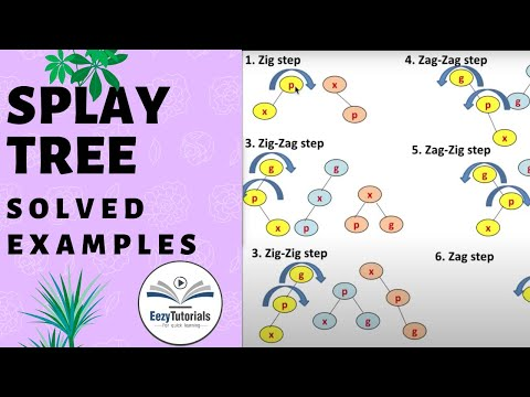 Splay Tree example - Data structures lecture series