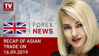 InstaForex tv news: 16.09.2019: Traders flocking to safe haven assets (USDX, USD/JPY, AUD/USD)