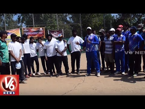 Cricket Tournament Between Telugu Associations In Los Angeles || V6 USA NRI News