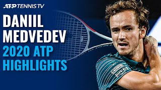 Daniil Medvedev: 2020 ATP Highlight Reel!