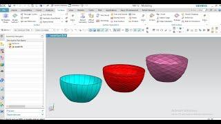 #Bowl Design #NX #Product Design