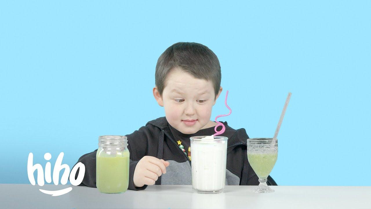 Download Kids Try Blended Beverages   HiHo Kids