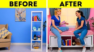 35 STUNNING HOME DECOR IDEAS || HOW TO UPGRADE YOUR OLD FURNITURE
