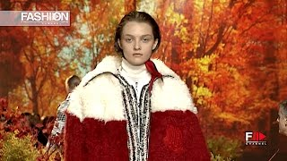 MONCLER GAMME ROUGE Fall Winter 2017 2018 Paris Fashion Week   Fashion Channel