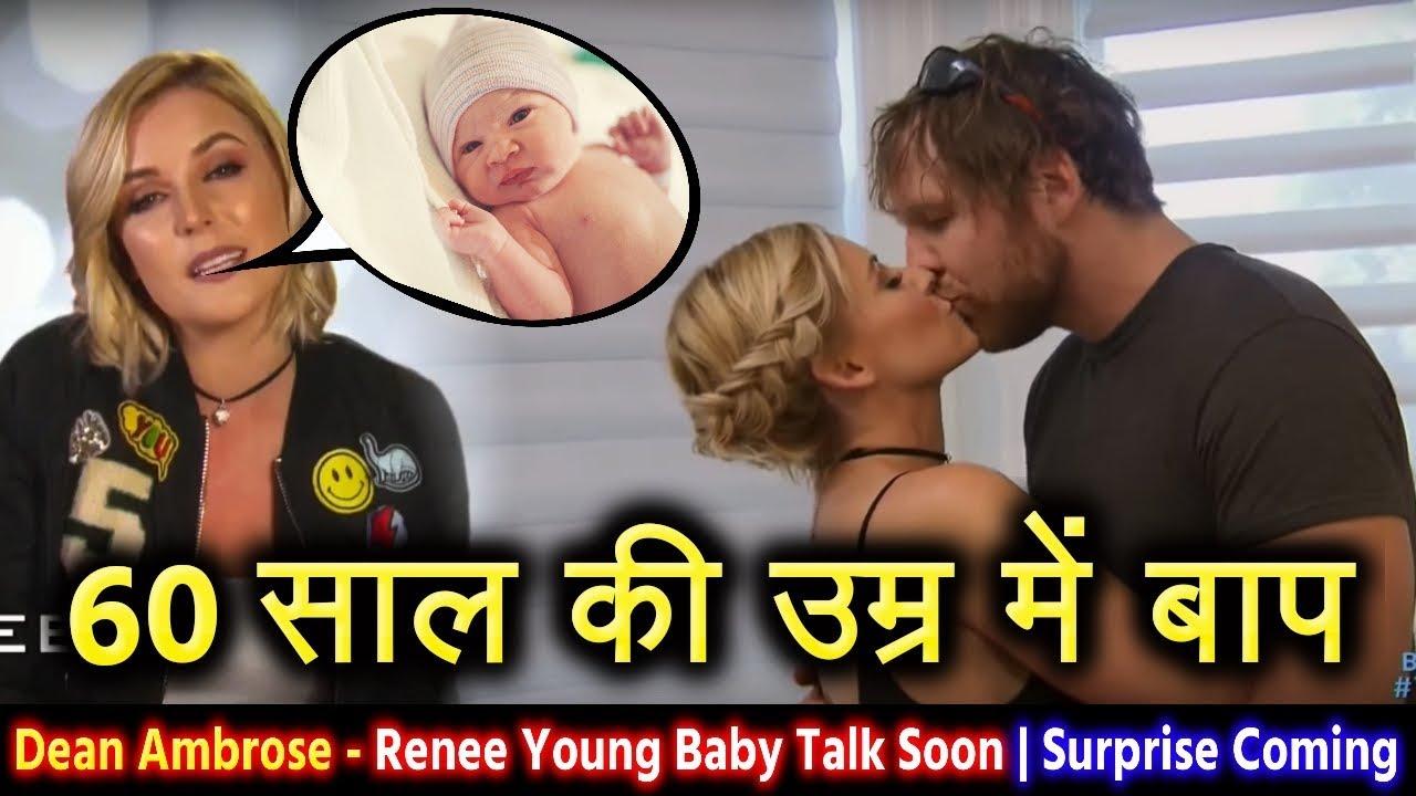 Dean Ambrose की बीवी Renee ने डीन के बाप बनने पर ये क्या बोल डाला - WWE  Dean Ambrose Wife Pregnant?