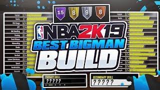 ALL BEST CENTER/POWER FORWARD BUILDS IN NBA 2K19 - BEST REBOUNDING, STRETCH BIG & POST SCORER BUILDS