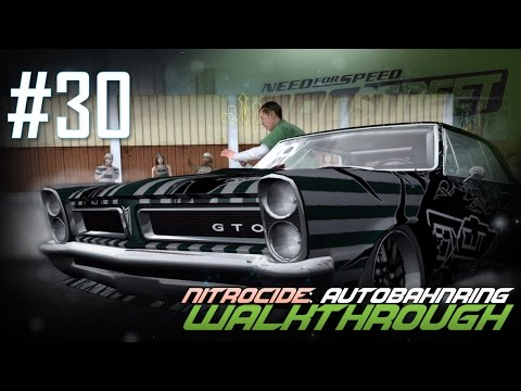 Need for Speed: ProStreet (PC) | Walkthrough Part #30 - Nitrocide: Autobahnring [HD 60FPS]