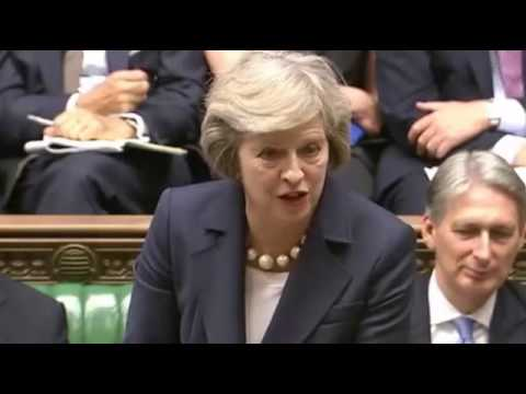 Theresa May vs Jeremy Corbyn (Conservative Party vs Labour Party - British Politics 2016)