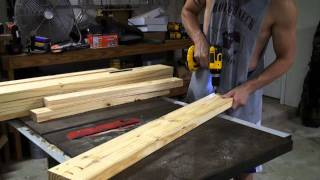 Tank Build Part 3 - Tank Stand Structure