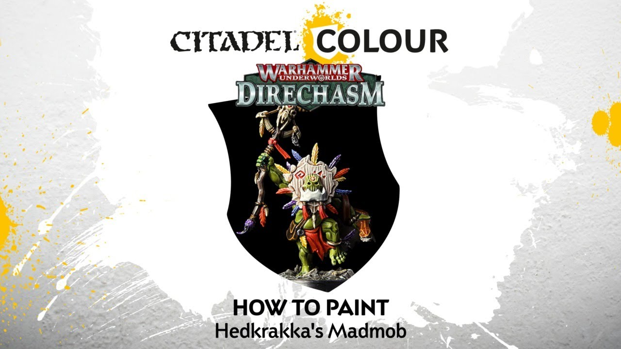 How to Paint Hedkrakka's Madmob