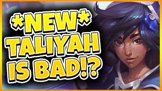 IS NEW TALIYAH JUNGLE RUINED? (PBE) | Tarzaned