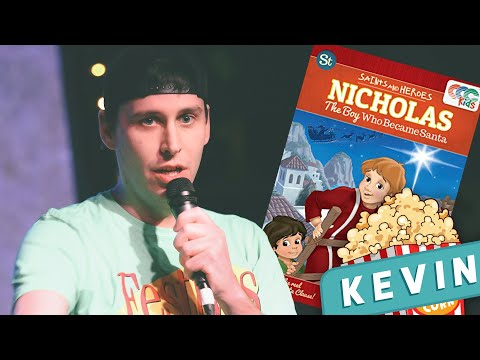 St. Nick: The Boy Who Became Santa | Say Movie Night Kevin LIVE