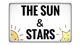 The Sun and Stars  ~ for Japanese learners ~
