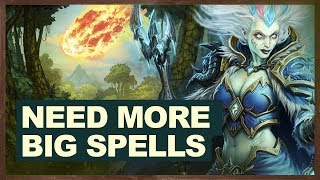 Need More Big Spells | Big Spell Mage | The Witchwood Hearthstone
