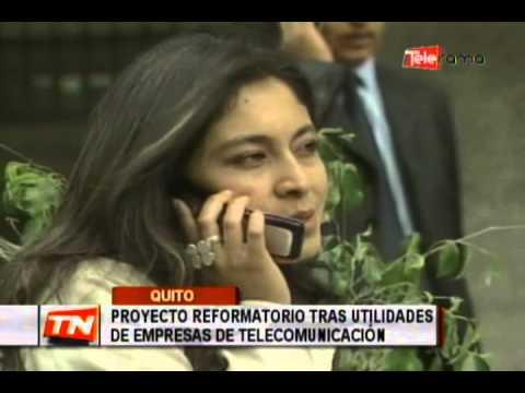 Proyecto reformatorio tras utilidades de empresas de telecomunicación