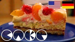 Aprikosen-himbeer-kuchen Rezept --- Apricote Raspberry Cake Recipe