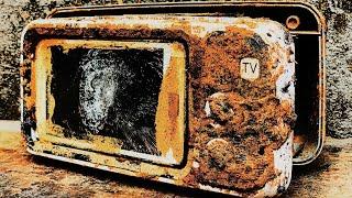 Restoration 4-5 inch television and destroyed phone | Rebuild broken TVs and phones