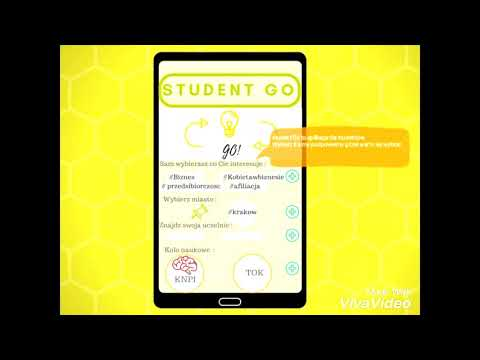 Aplikacja dla studentów Student Go promująca wydarzenia