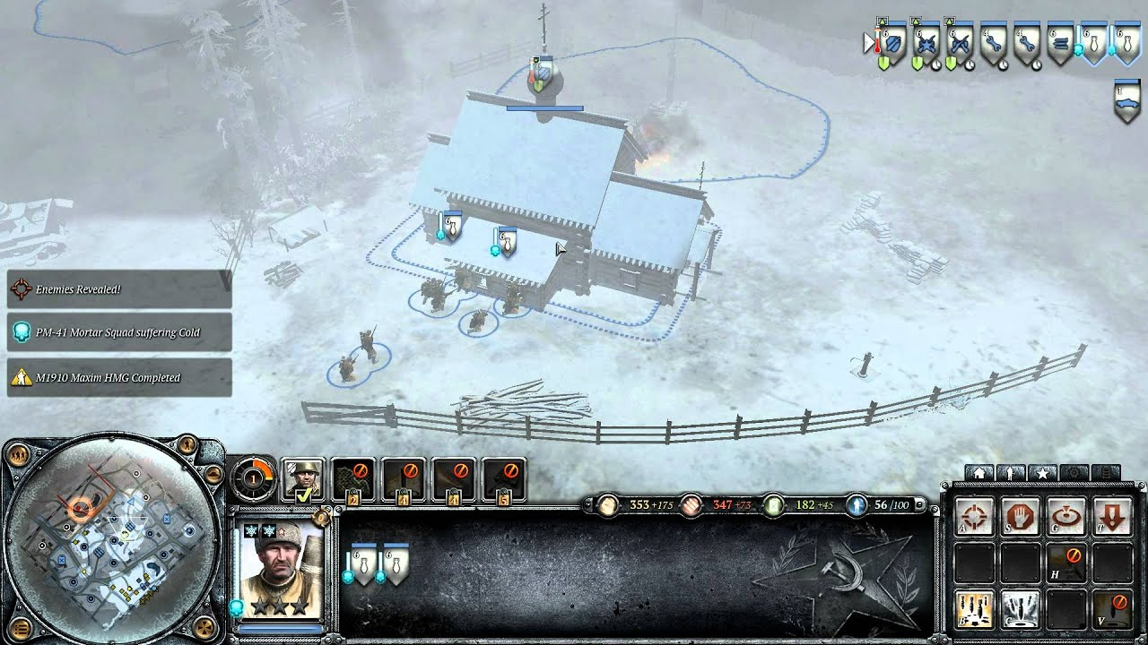 Company Of Heroes 2 Beta Co Op 2 Vs 1 Hd Greek Commentary Youtube