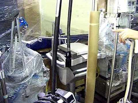 Hospital equipment and supplies for the Democratic Republic of Congo.