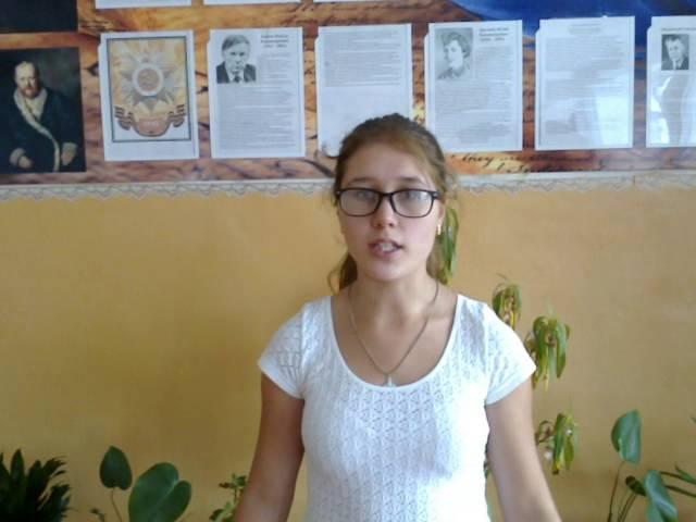 Мария Носачева читает произведение «В темнеющих полях» (Бунин Иван Алексеевич)