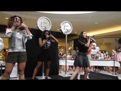Fifth Harmony - Miss Movin' On / I Knew You Were Trouble - Square One Mall (7/15/13)