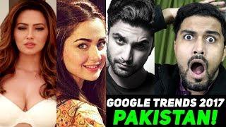 Google Trends 2017 - Watch SHOCKING results Shows Pakistan LOVE for..Hania, Fabiha, Ahad Raza