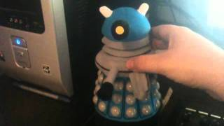 My talking Dalek plushie.