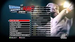 Smackdown vs. Raw 2011: All Unlockables [Fan Axxess]
