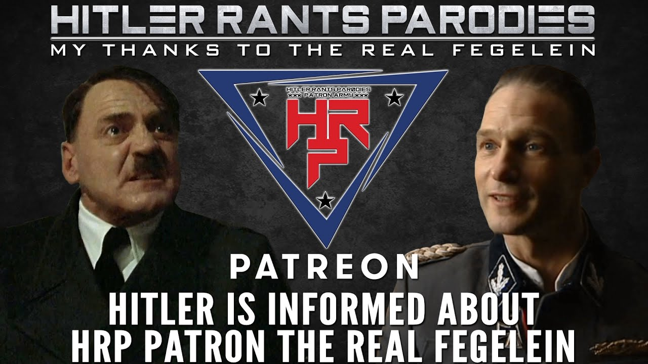 Hitler is informed about HRP Patron: The Real Fegelein