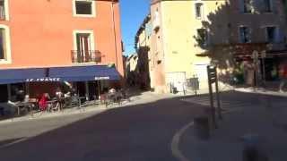 Ville de Gignac dans l' Hérault au centre de nombreux villages typique