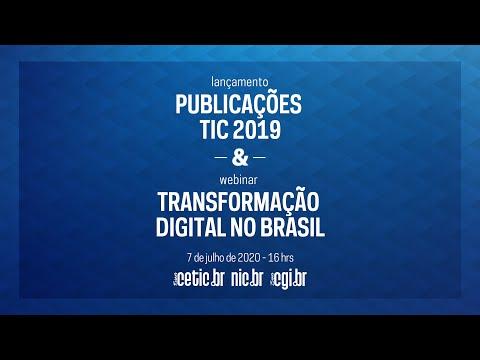 Lançamento Publicações TIC 2019 & Webinar