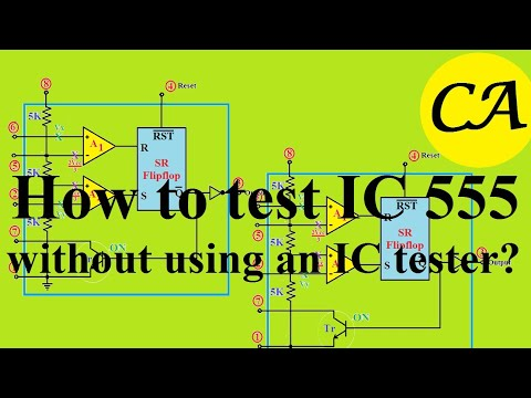 How To Test IC 555 Without Using An IC Tester