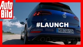 VW Golf 7 R Facelift Sound (2017)