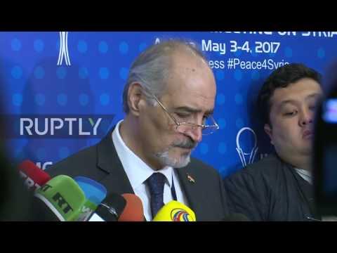 Kazakhstan: Jaafari declares latest Astana talks a 'qualitative achievement'