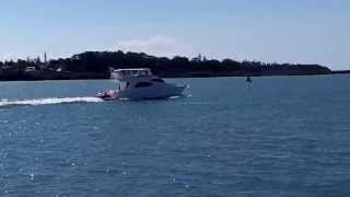 Ocean Force 54 Pilothouse Motor Cruiser for sale at Peter Hansen Yacht Brokers Raby Bay