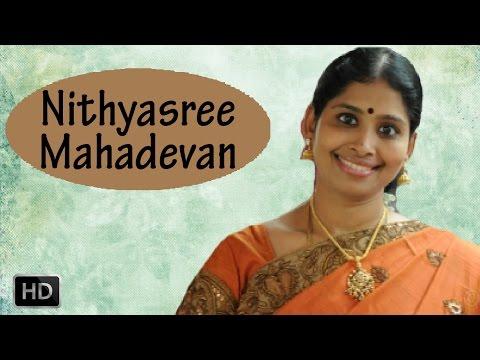 Carnatic Vocal - Annamacharya Kritis - Bhavayami Gopalabalam Manasevitam - Nithyasree Mahadevan