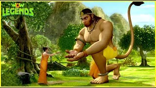 Ramayana: The Epic | Legend Of Prince Rama | Mythological Stories For Kids | Lanka Dahan|Wow Legends